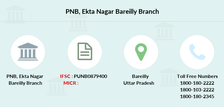 Punjab-national-bank Ekta-nagar-bareilly branch