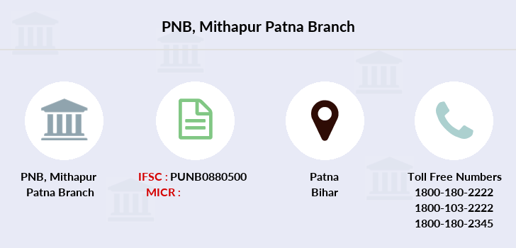 Punjab-national-bank Mithapur-patna branch