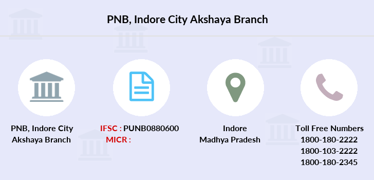 Punjab-national-bank Indore-city-akshaya branch