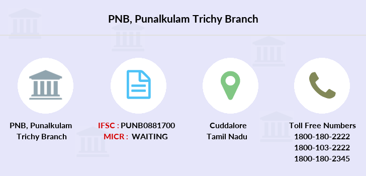 Punjab-national-bank Punalkulam-trichy branch