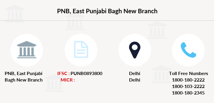 Punjab-national-bank East-punjabi-bagh-new branch