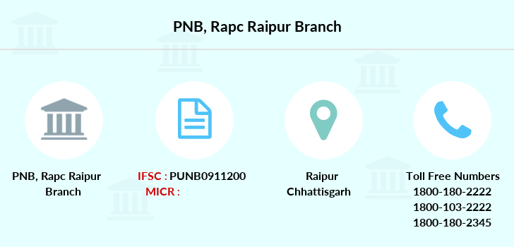 Punjab-national-bank Rapc-raipur branch