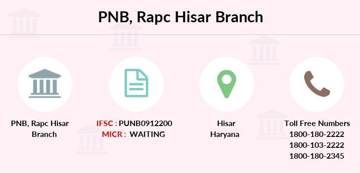Punjab-national-bank Rapc-hisar branch
