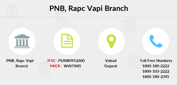 Punjab-national-bank Rapc-vapi branch