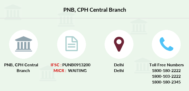 Punjab-national-bank Cph-central branch