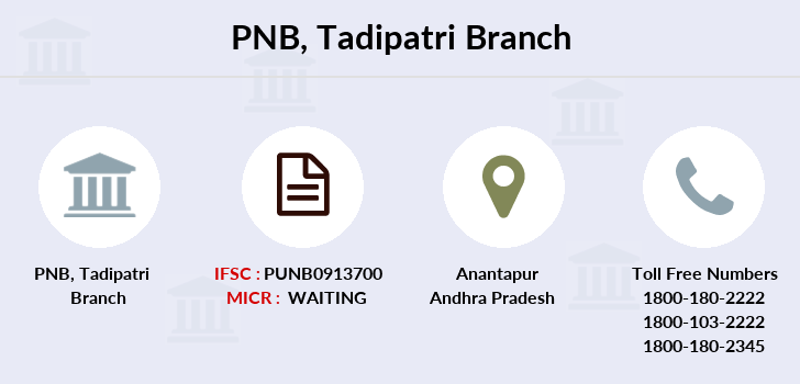 Punjab-national-bank Tadipatri branch