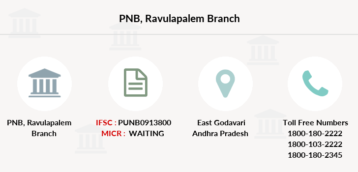 Punjab-national-bank Ravulapalem branch
