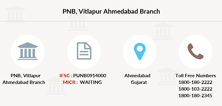 Punjab-national-bank Vitlapur-ahmedabad branch