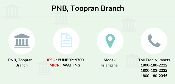 Punjab-national-bank Toopran branch