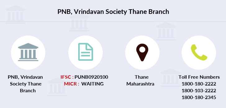 Punjab-national-bank Vrindavan-society-thane branch
