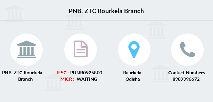 Punjab-national-bank Ztc-rourkela branch