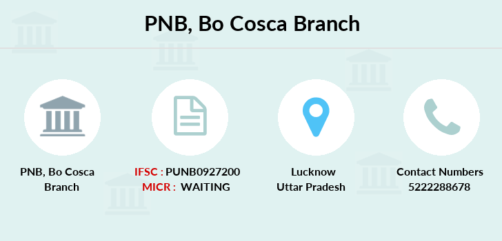 Punjab-national-bank Bo-cosca branch