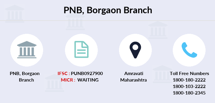 Punjab-national-bank Borgaon branch
