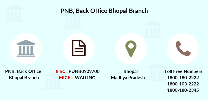 Punjab-national-bank Back-office-bhopal branch