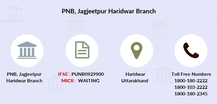 Punjab-national-bank Jagjeetpur-haridwar branch