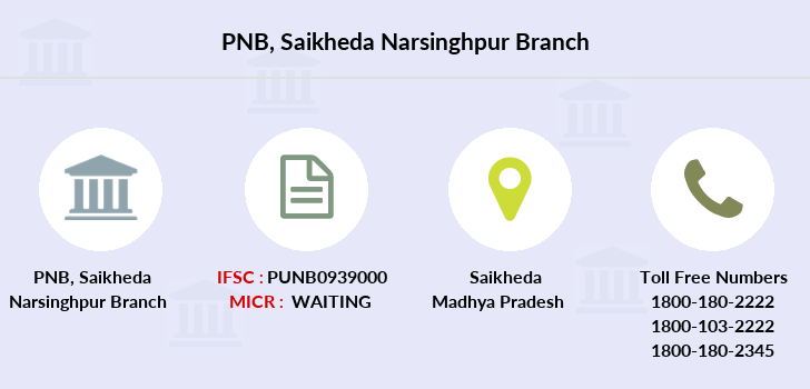 Punjab-national-bank Saikheda-narsinghpur branch