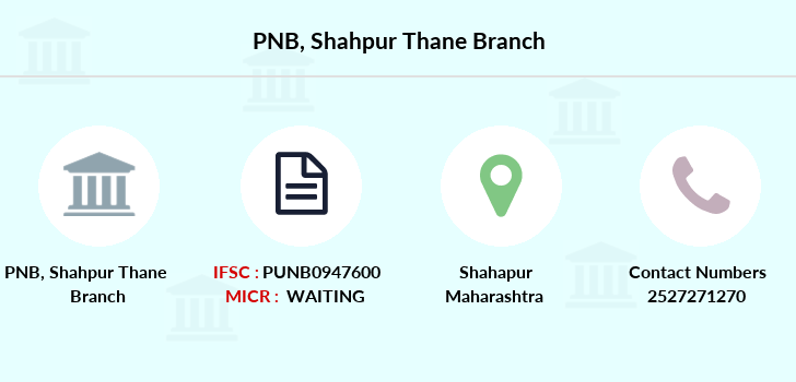 Punjab-national-bank Shahpur-thane branch