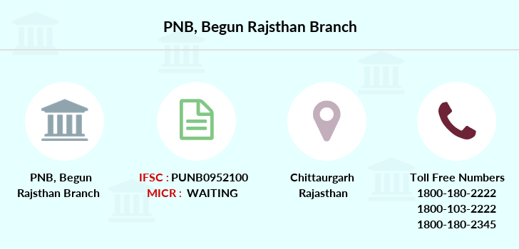 Punjab-national-bank Begun-rajsthan branch