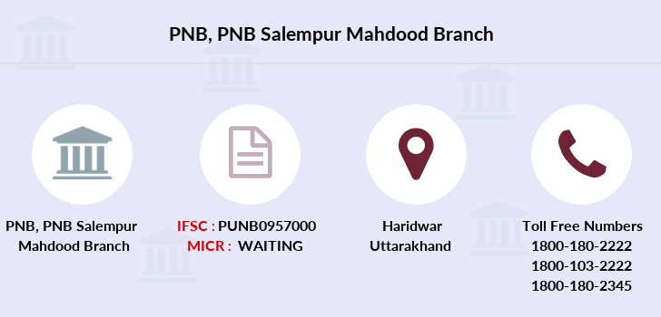 Punjab-national-bank Pnb-salempur-mahdood branch