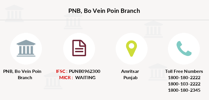Punjab-national-bank Bo-vein-poin branch