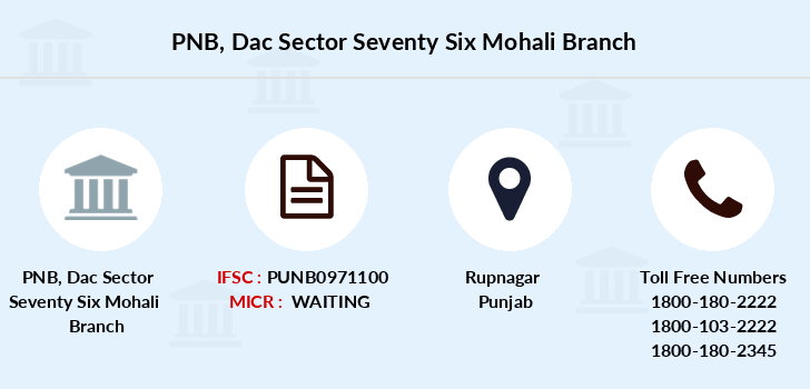Punjab-national-bank Dac-sector-seventy-six-mohali branch