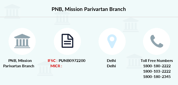 Punjab-national-bank Mission-parivartan branch
