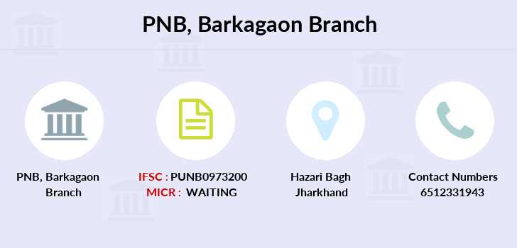 Punjab-national-bank Barkagaon branch