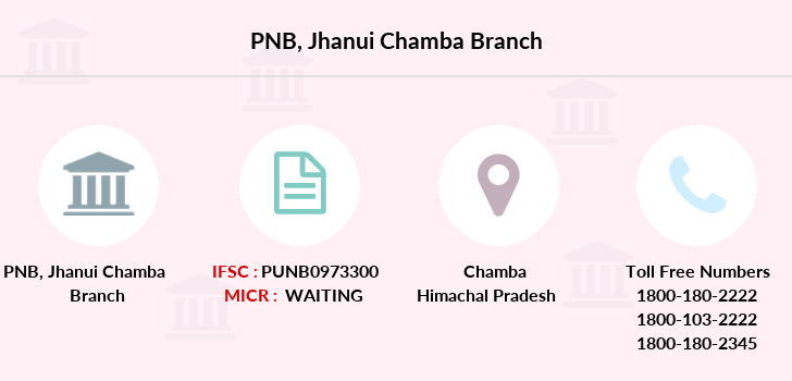Punjab-national-bank Jhanui-chamba branch