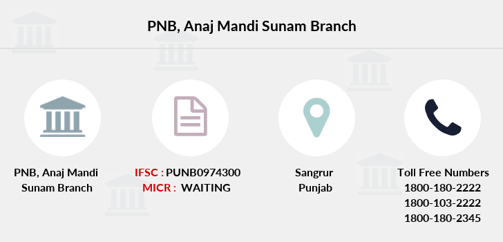 Punjab-national-bank Anaj-mandi-sunam branch
