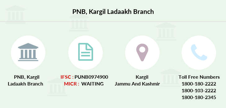 Punjab-national-bank Kargil-ladaakh branch
