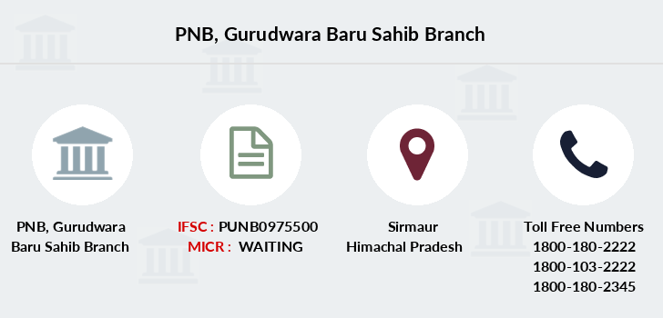 Punjab-national-bank Gurudwara-baru-sahib branch