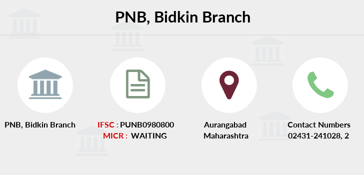 Punjab-national-bank Bidkin branch