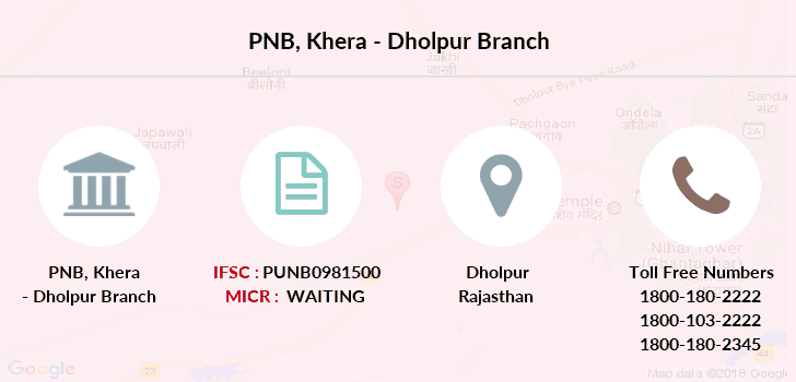 Punjab-national-bank Khera-dholpur branch