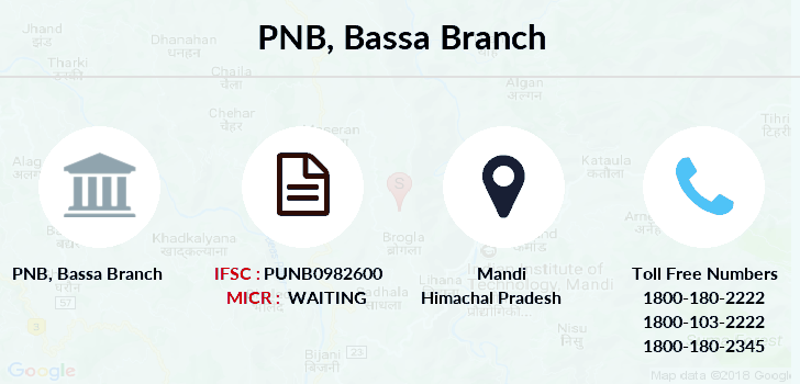 Punjab-national-bank Bassa branch