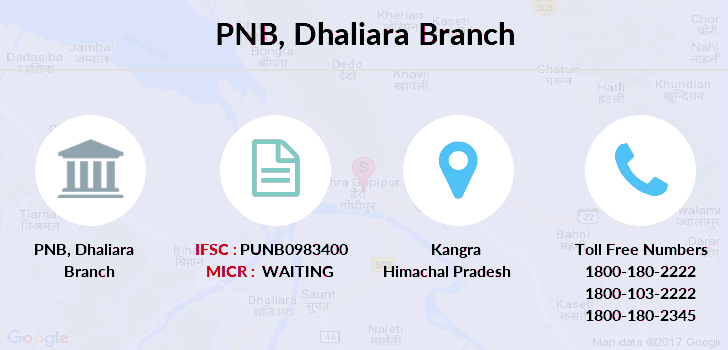 Punjab-national-bank Dhaliara branch