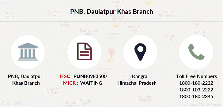 Punjab-national-bank Daulatpur-khas branch