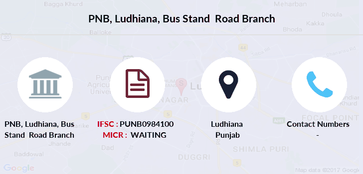 Punjab-national-bank Ludhiana-bus-stand-road branch