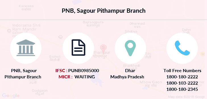Punjab-national-bank Sagour-pithampur branch