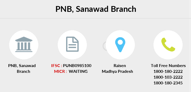 Punjab-national-bank Sanawad branch