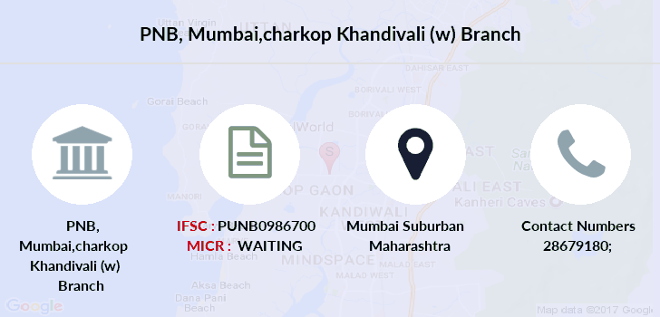 Punjab-national-bank Mumbai-charkop-khandivali-w branch
