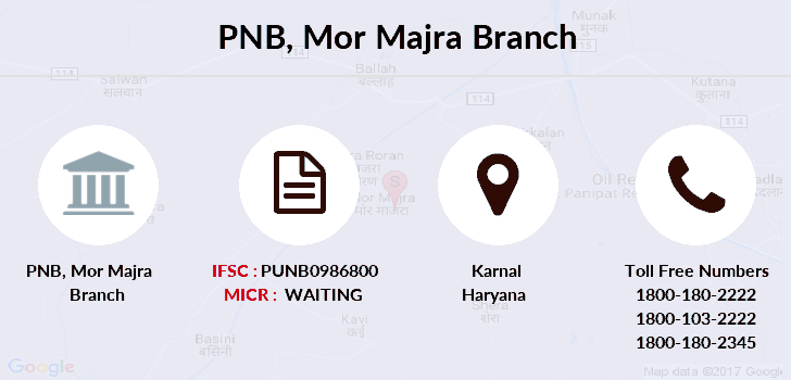 Punjab-national-bank Mor-majra branch