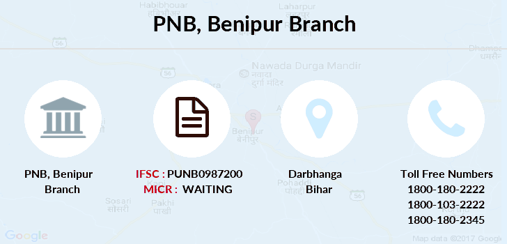 Punjab-national-bank Benipur branch