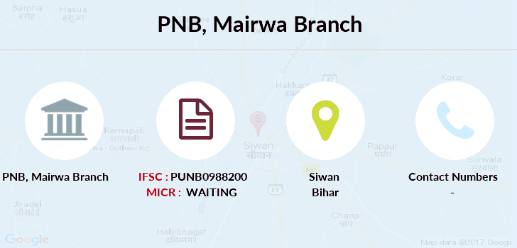 Punjab-national-bank Mairwa branch