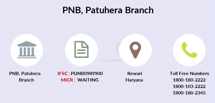 Punjab-national-bank Patuhera branch