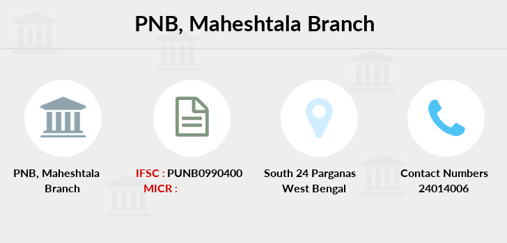 Punjab-national-bank Maheshtala branch