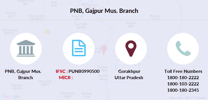 Punjab-national-bank Gajpur-mus branch