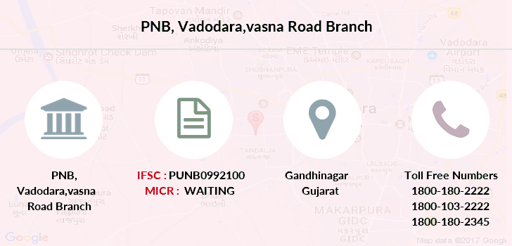 Punjab-national-bank Vadodara-vasna-road branch