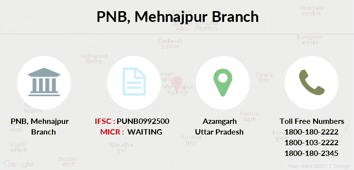 Punjab-national-bank Mehnajpur branch