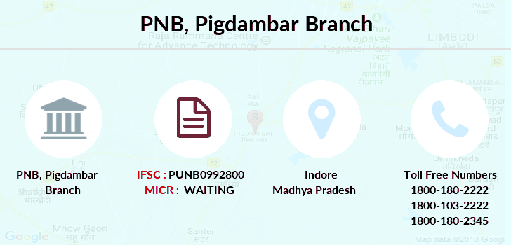 Punjab-national-bank Pigdambar branch