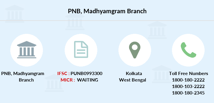 Punjab-national-bank Madhyamgram branch